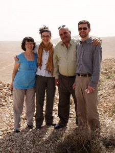 With Jawad between Damascus and Deir Mar Musa