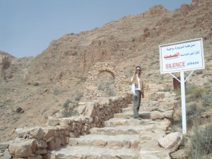 Beginning the walk to Deir Mar Musa