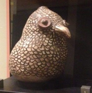 Ceramic bird. Heard Museum collection.