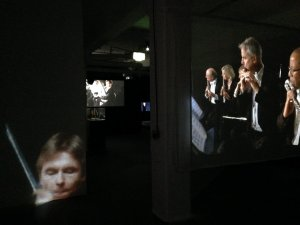 """re-rite"" video and sound installation."